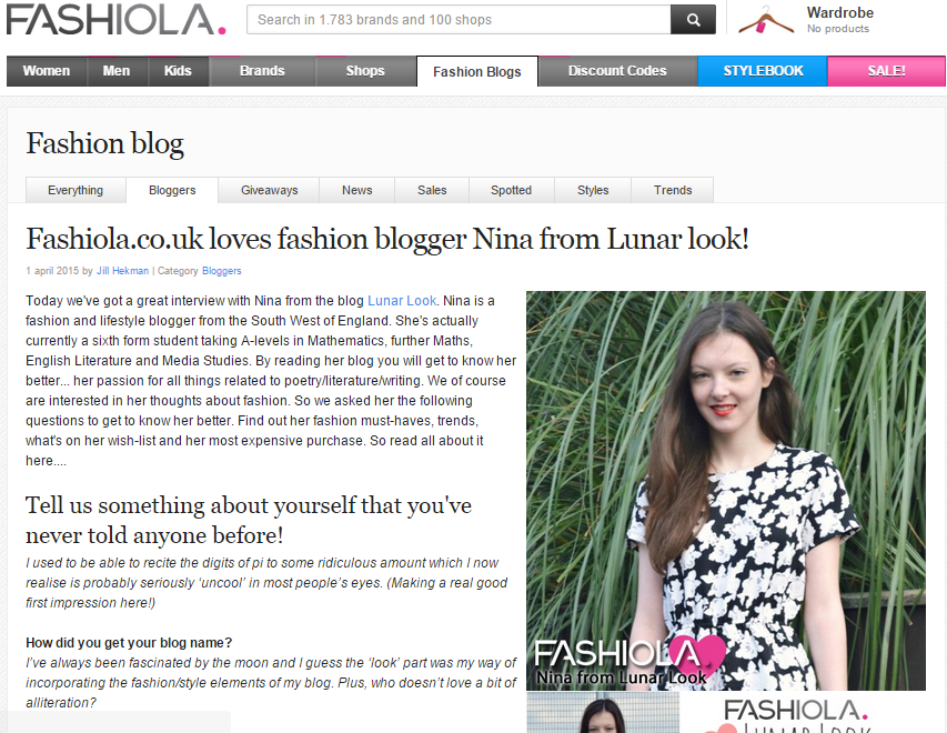 fashiola blogger lunar look