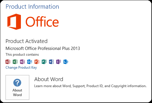 How to Activate Microsoft Office 2013 Permanent