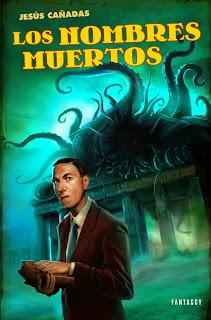 Portada de Los nombres muertos, novela de Jesús Cañadas