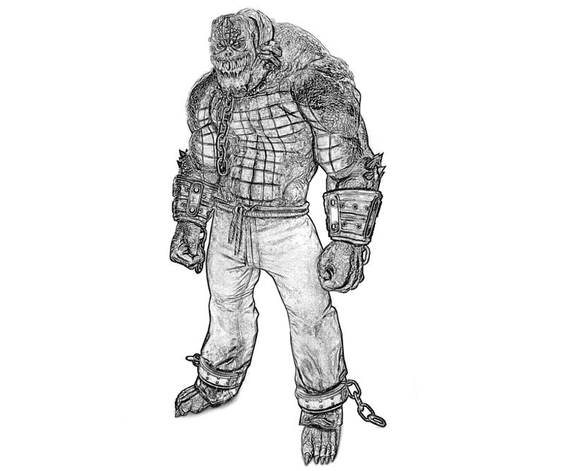 batman-arkham -city-killer-croc-armored-coloring-pages