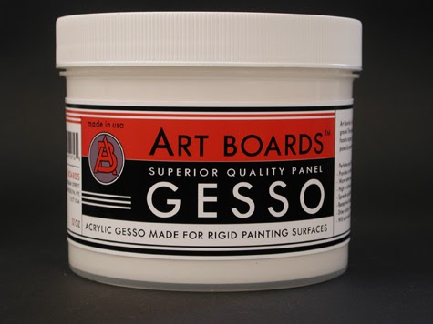 Gesso To Cover Oil Paint