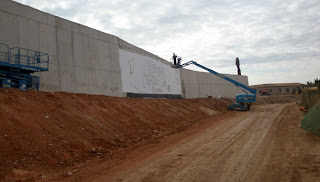 Decoración mural gigante
