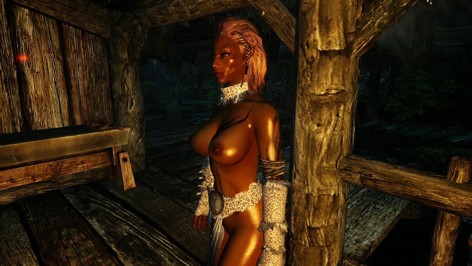 Naked skin mod skyrim hentai galleries