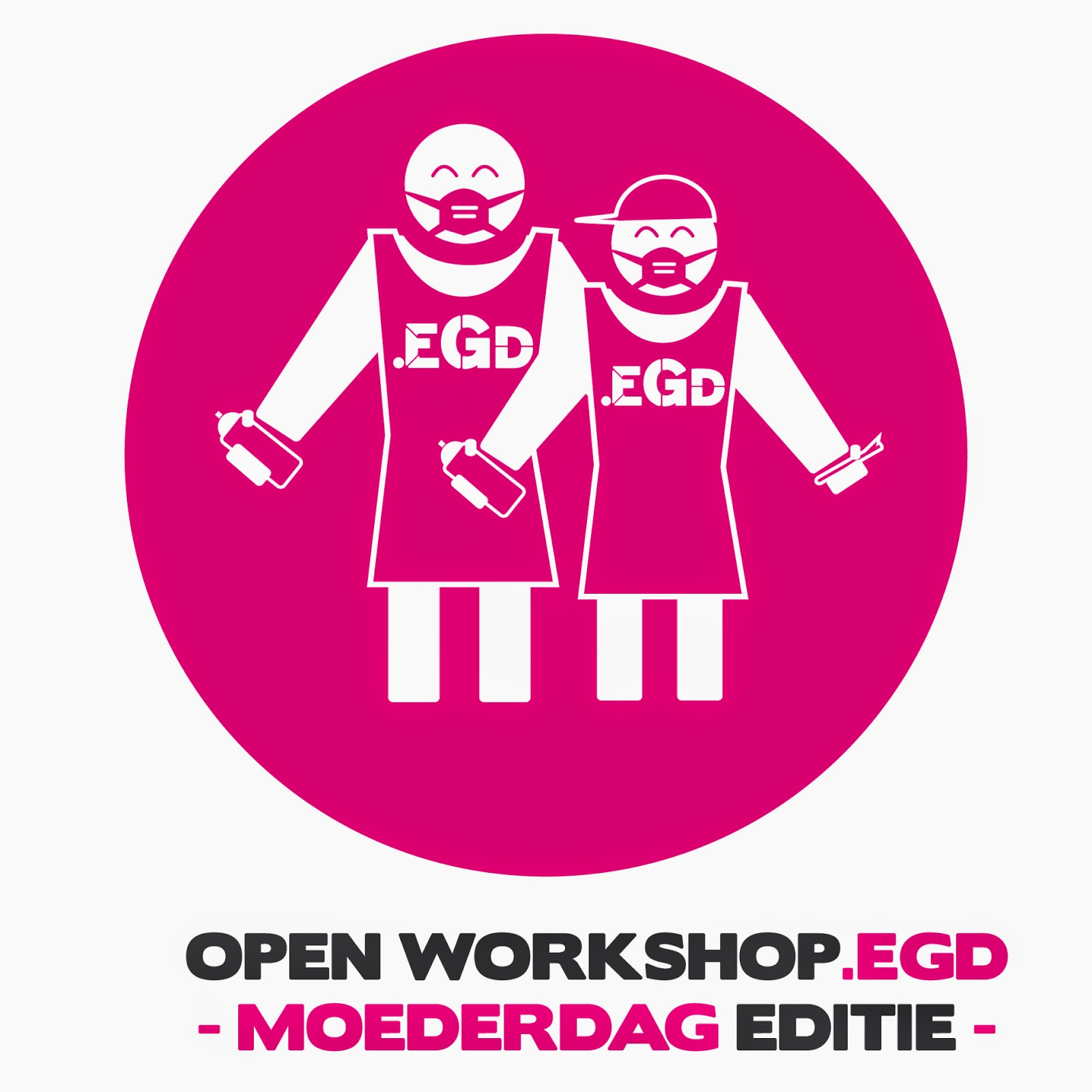 10 Mei: Moederdag: OPEN workshop.EGD