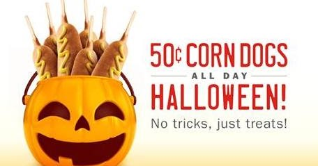Image result for sonic halloween corn dog