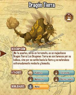 imagen de las debilidades de antes del dragon tierra