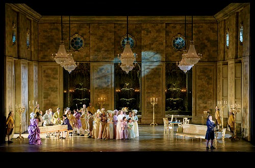 Act one of Andrea Chenier at Royal Opera House -  © ROH. Bill Cooper 2015