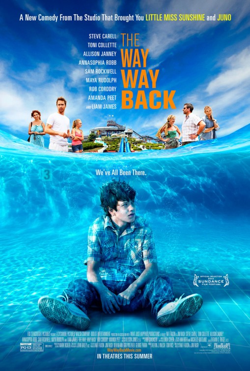 Way Way Back movie poster
