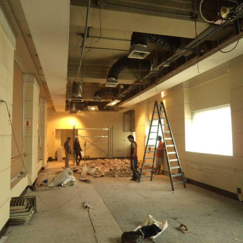 Oniria inicio de remodelacion de oficina en el centro de lima for Remodelacion oficinas
