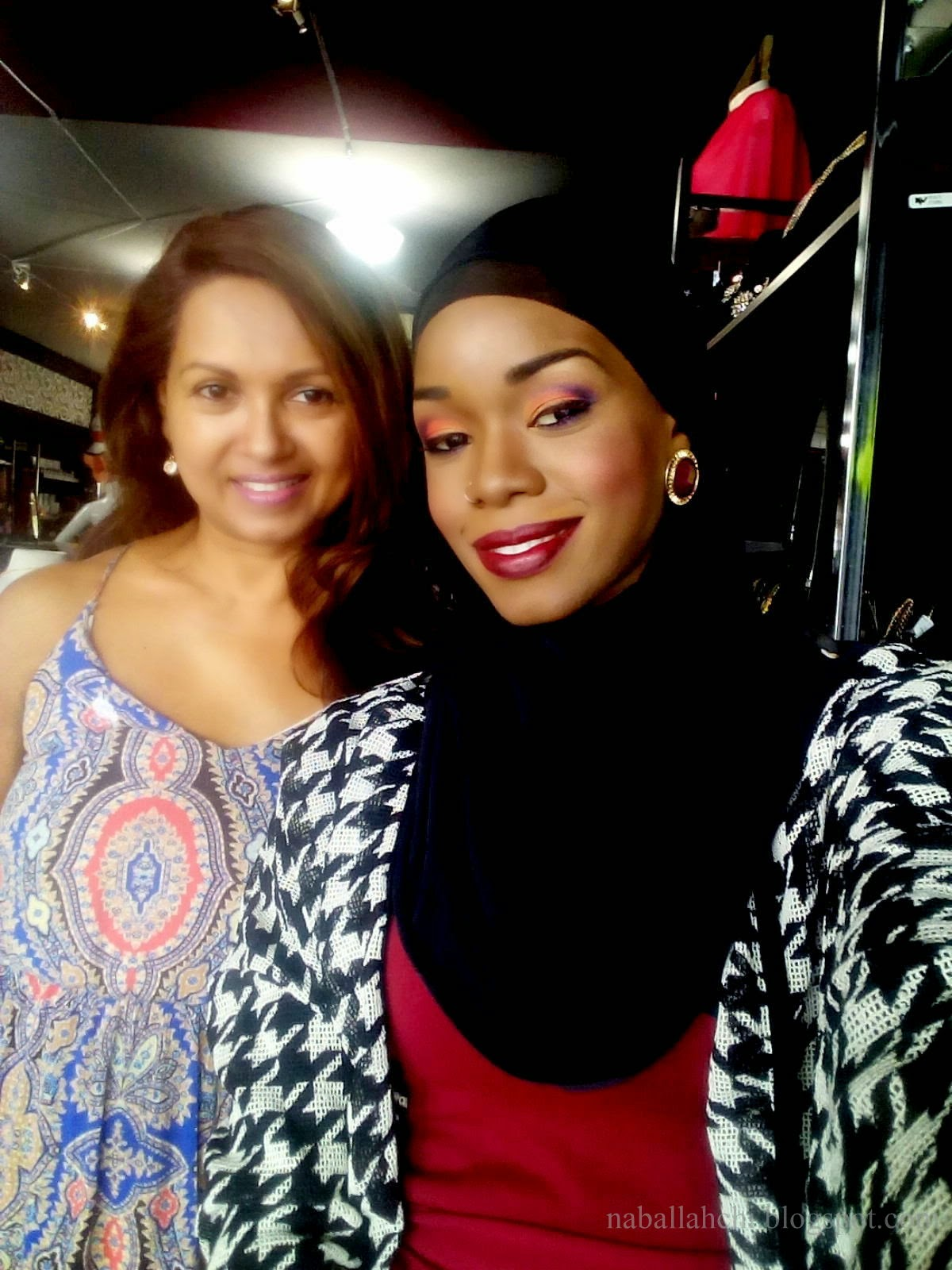 At Bling Boutique with Dianne John my talented MUA