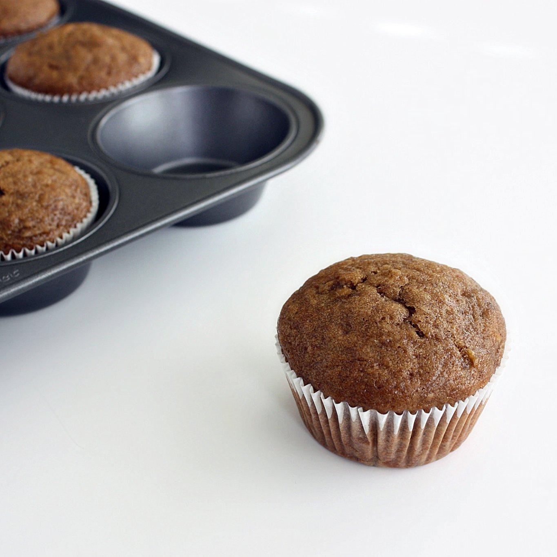 banana molasses muffins (vegan)