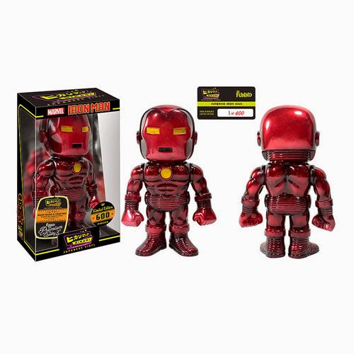 """Inferno"" Iron Man Marvel Premium Hikari Sofubi Vinyl Figure by Funko"
