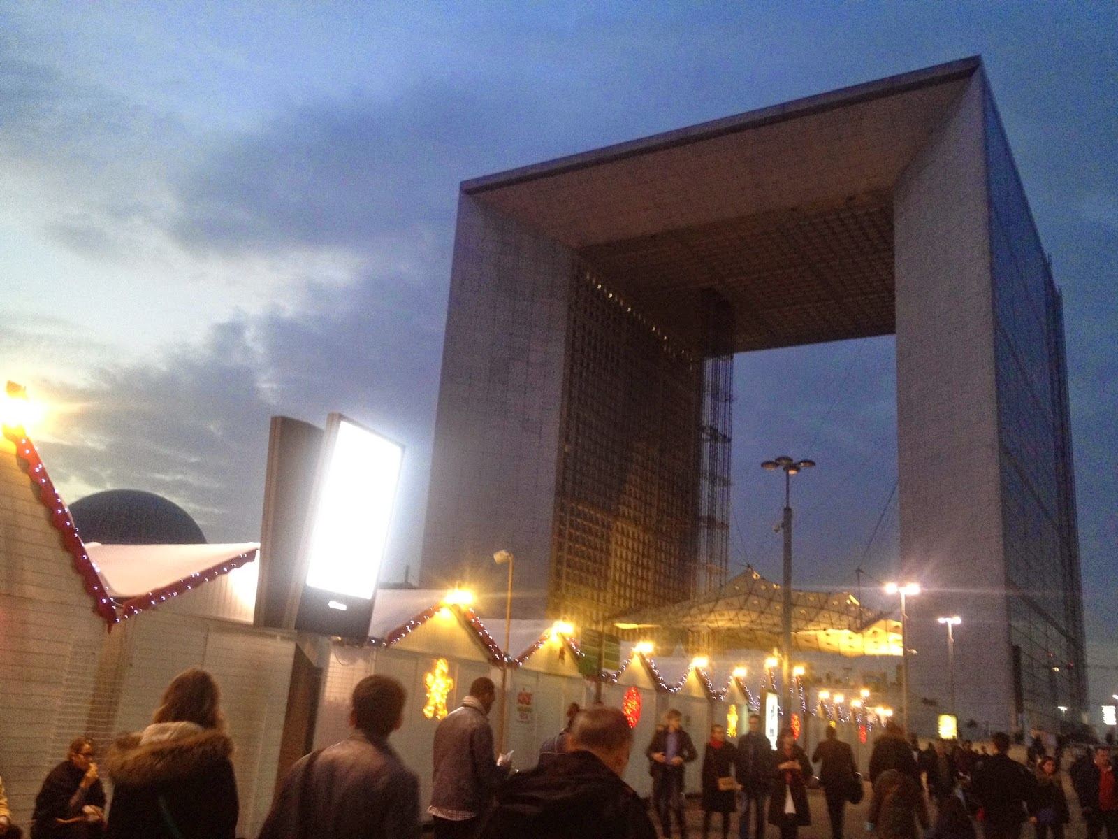 La Grande Arche at La Défense