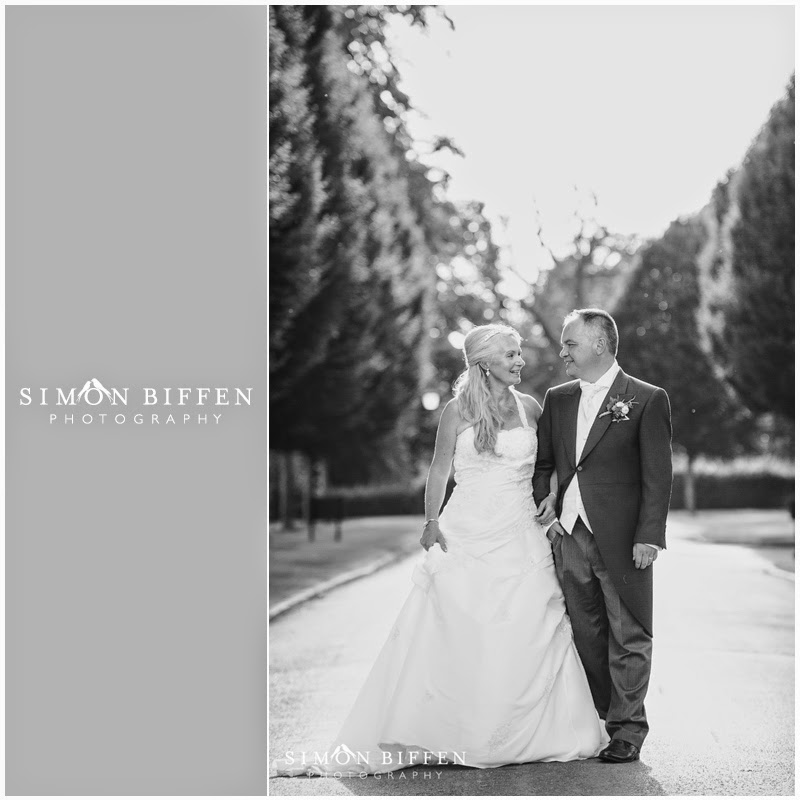 Bride and Groom portraits at Danesfield House wedding