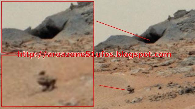 la grenouille, le canard et le lézard sur Mars Canard+et+grotte+sur+mars+2