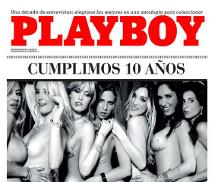 10 Anos, 7 Deusas Playboy Argentina Dezembro 2015
