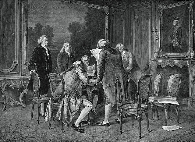 Signing of the Treaty of Paris, 1783