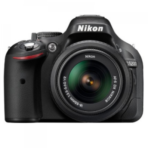 Amazon : Buy Nikon D5200 Camera  with AF-S 18 – 55 mm VR Kit with 8GB Card and Bag Only on 24,699