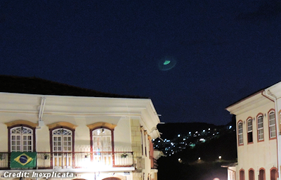 UFO Photographed During World Cup Games