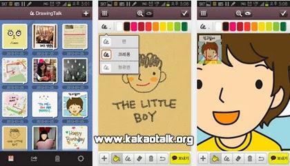 Dibuja y comparte con tus amigos usando Drawingtalk for Kakao