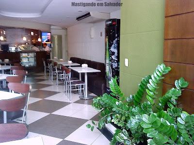 Troppo Spazio Gourmet: Ambiente da loja do Itaigara