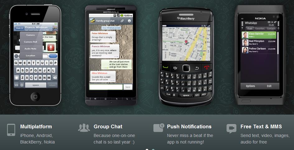 WHATSAPP NOKIA S60 app | SYMBIAN UPS