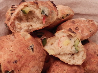 Olive and Chilli bread