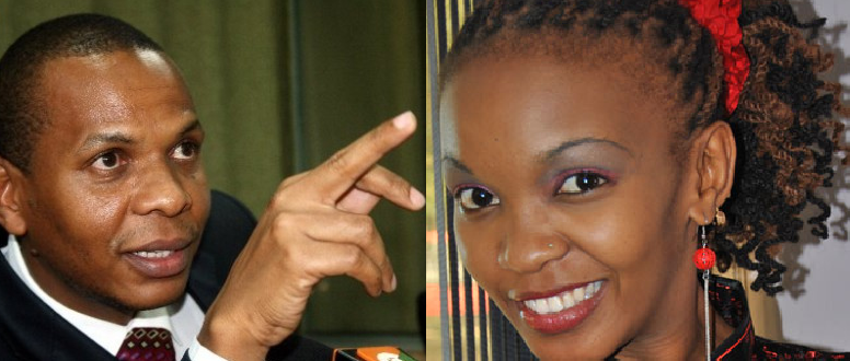Nyambane and Linda Muthama http://www.kenyan-post.com/2012/11/official-danson-mungatanas-second-wife.html