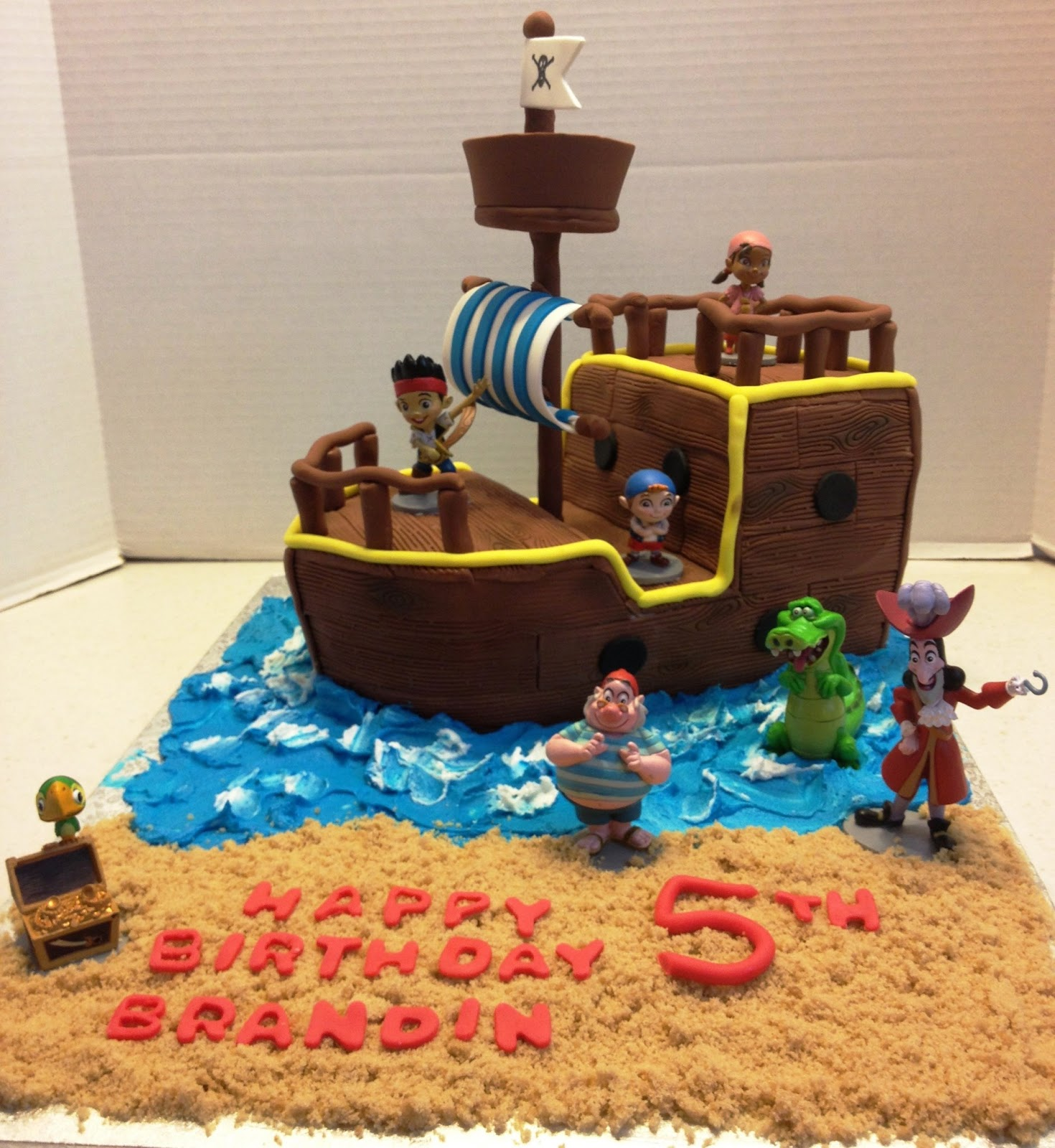 jake and the neverland pirates tiered cake - photo #29