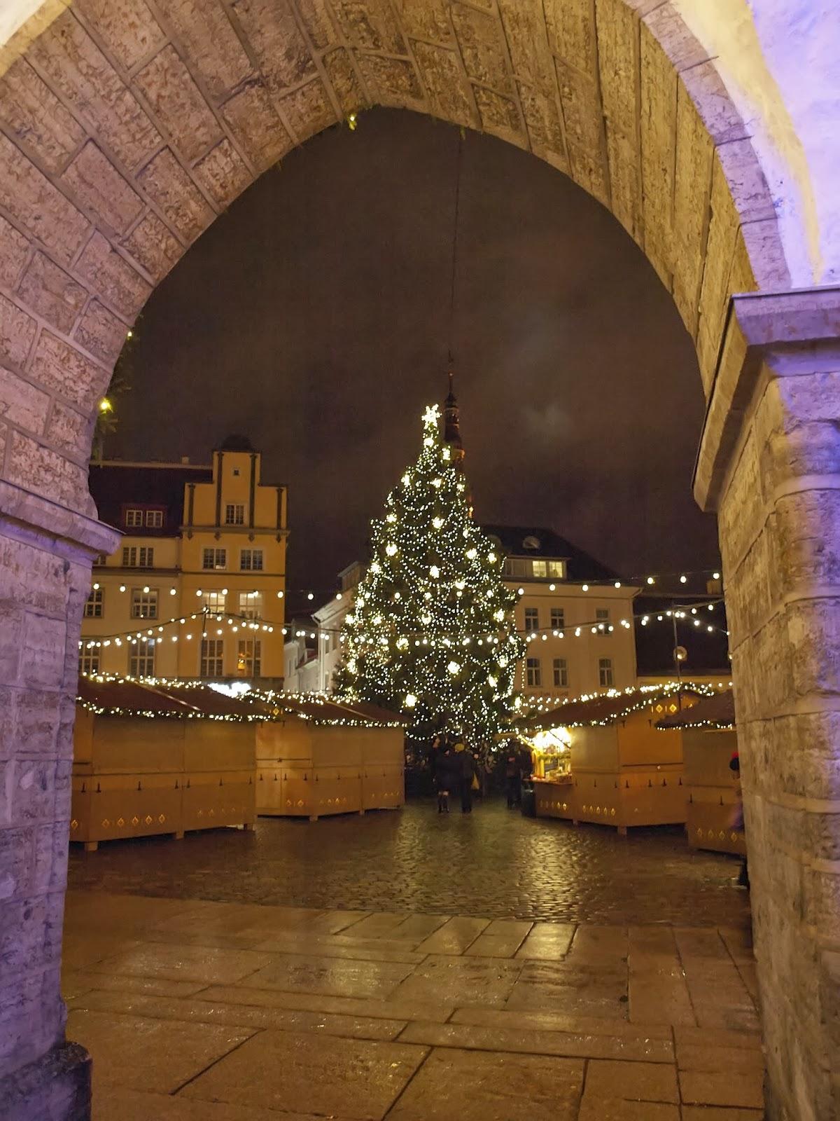 Экскурсии по новогоднему Таллинну. Рекомендации туристам