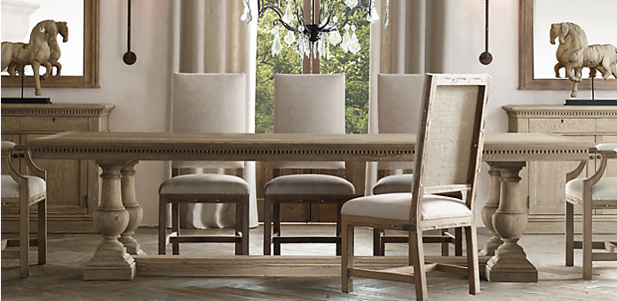dining table, table, dining, restoration hardware, home, decor,