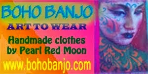 Boho Banjo - Art to Wear Clothing
