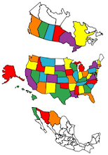 States and Provinces Visited