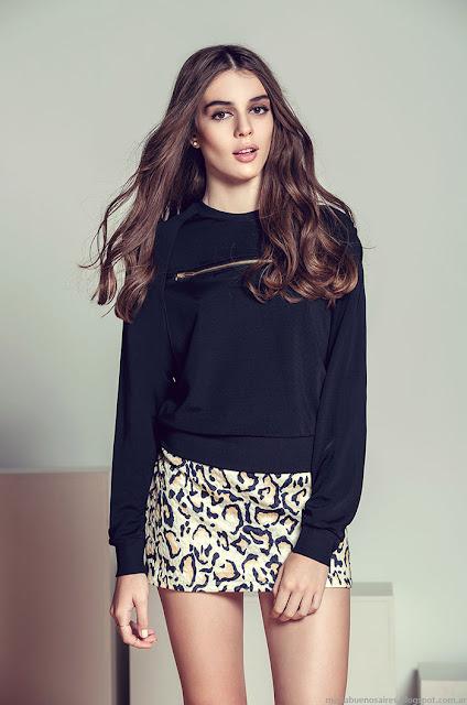 Minifaldas invierno 2015 ropa de mujer Julien.
