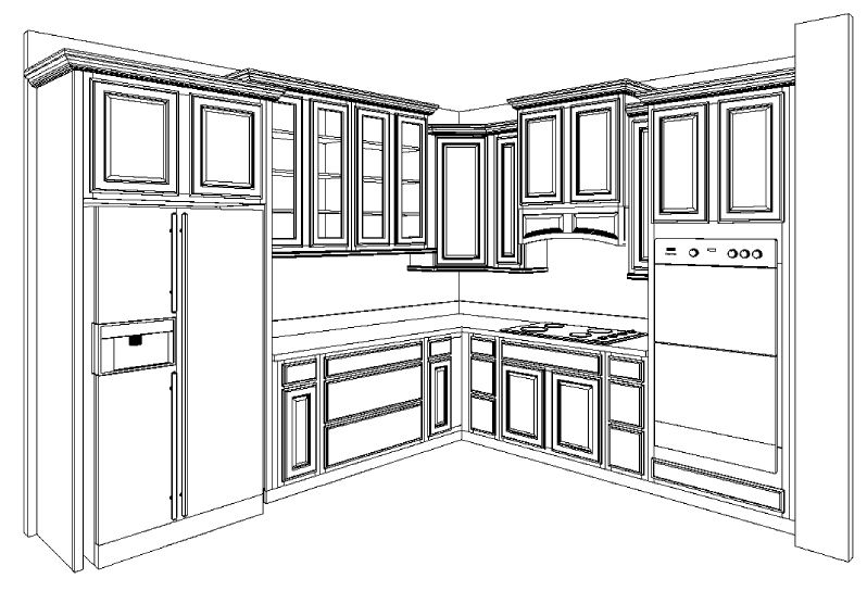 For The Love Of A Cottage Kitchen Cabinets Layout Finalized 07 27 11