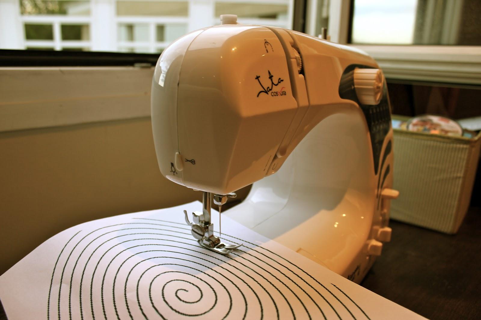 Como coser a maquina sin torcerse