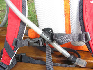 Drinking Hose Magnet in Hydration Pack