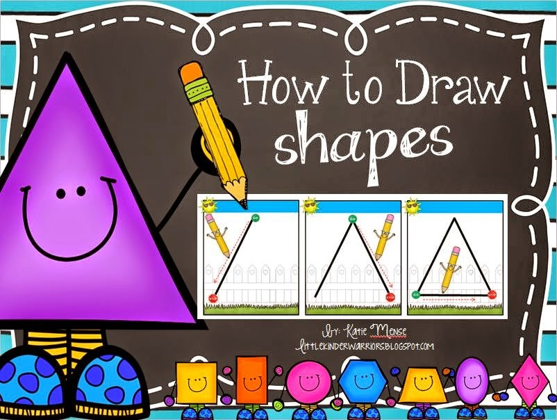 http://www.teacherspayteachers.com/Product/How-to-Draw-Shapes-1336414