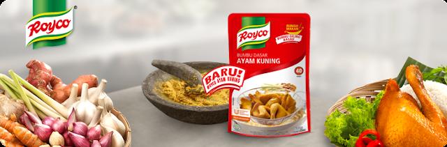 Info Sampel - Sampel Gratis 4000 Produk Royco Bumbu Dasar Ayam Kuning