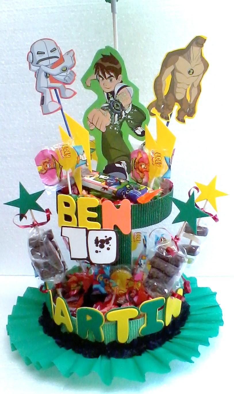 Fiesta infantil cumpleanos de ben 10 decoracion fiestas - Fiesta cumpleanos infantil ...
