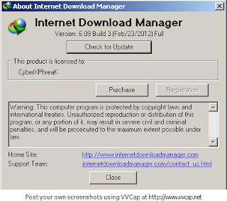 Internet Download Manager 6.09 Build 3 Final