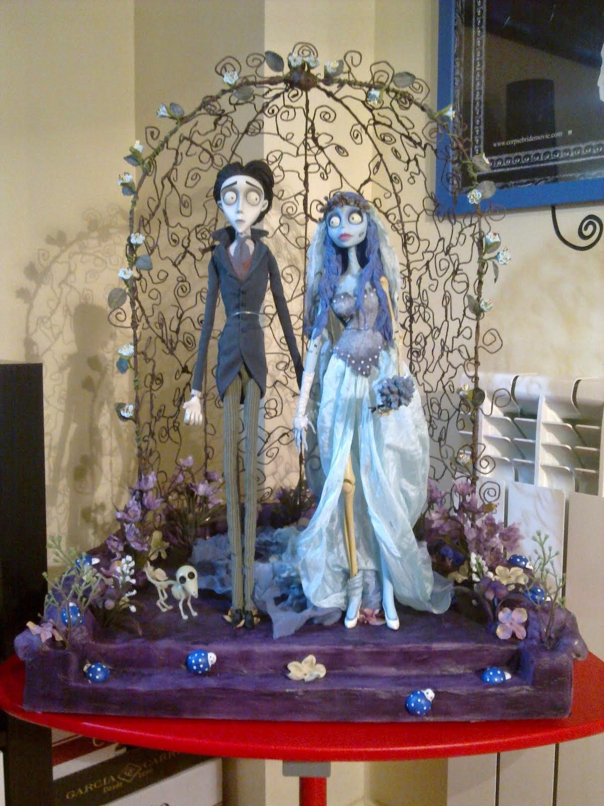Altar para Figura de La Novia Cadaver