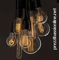 Lampadine edison ad incandescenza con filamento for Lampadine led economiche