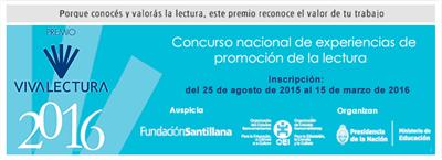 GANADORES PREMIO VIVA LECTURA 2016