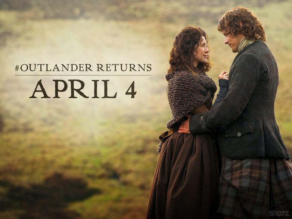 Outlander hiatus - Blog Só Mais Um