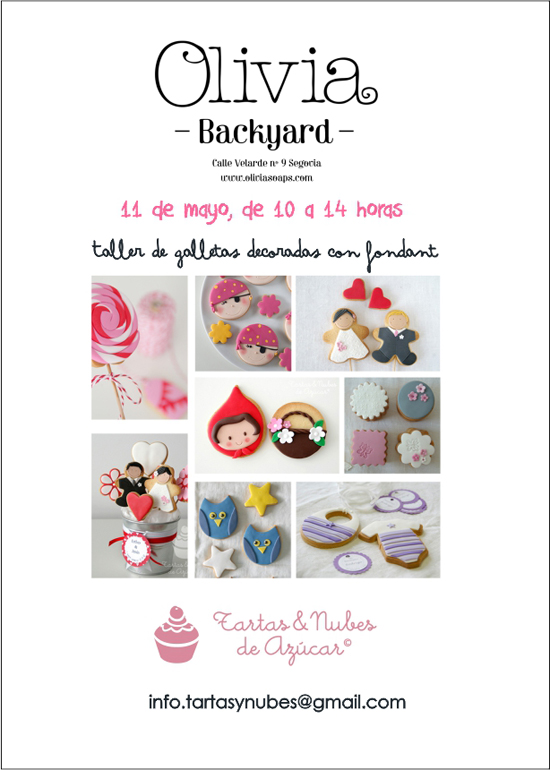 Taller de galletas decoradas en &quot;Olivia Soaps&quot;