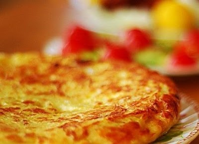 İspanyol Omleti (Tortilla Paısana)