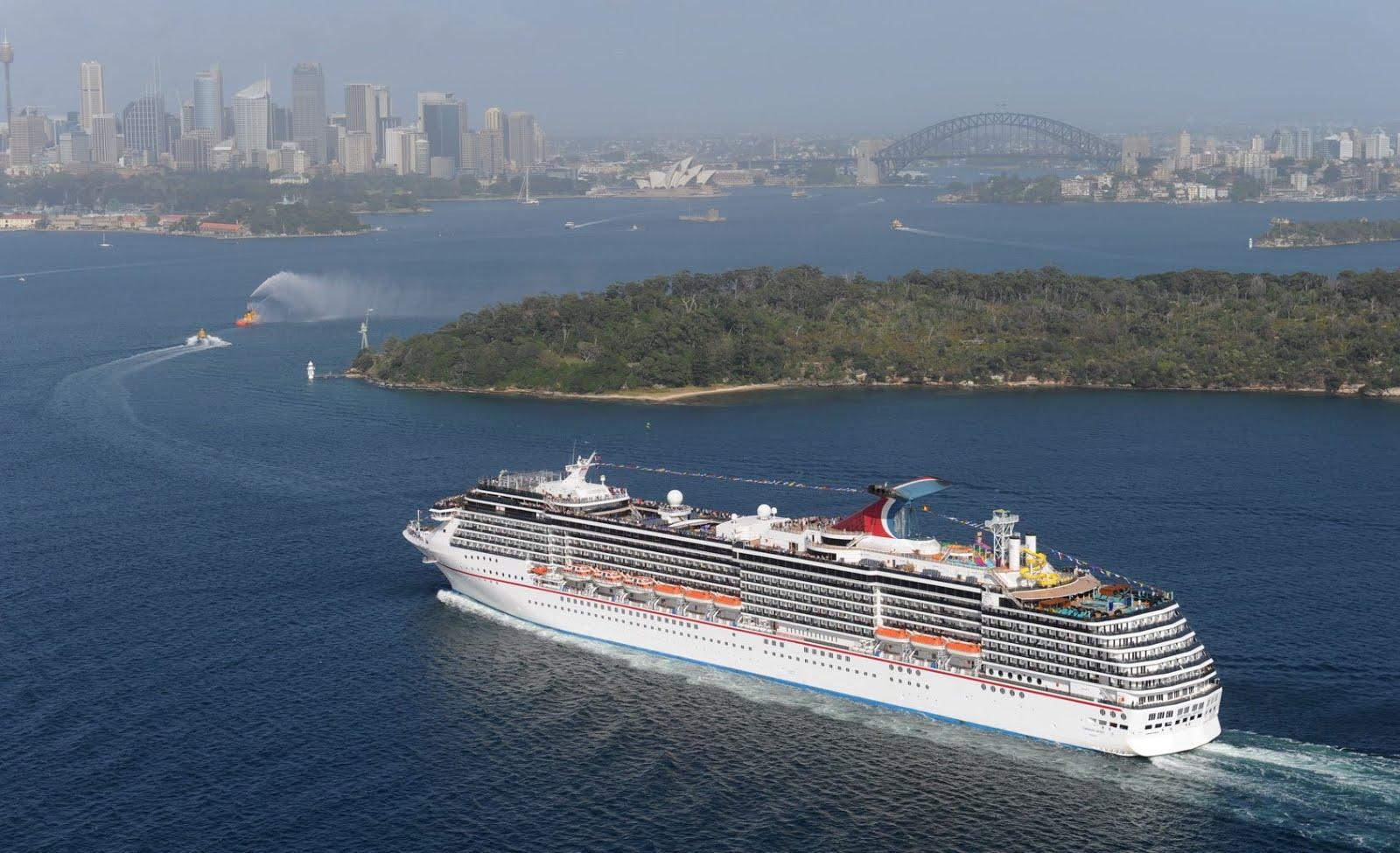 Carnival Spirit Sails Into Sydney