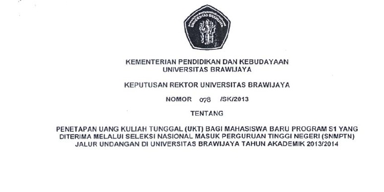 Uang Kuliah Tunggal dan Pro-Kontra di Kalangan Mahasiswa UB | Kavling ...