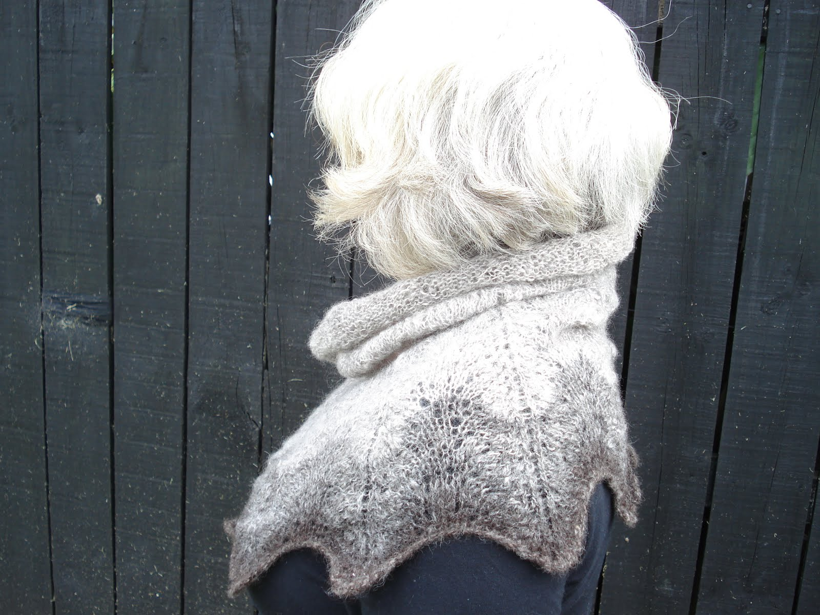 Tin Shed Yarns Highway 16 Lace Cowl